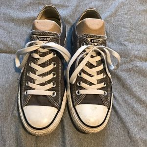 Converse All Star Gray Women's Shoes Size 7